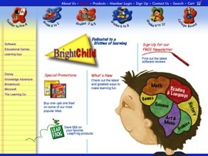 Bright Child educational software